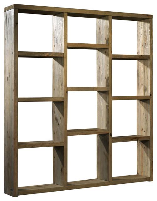 Mandorla Aged Pine Bookcase