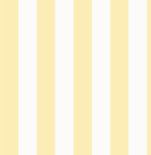 Vertical Stripe Wallpaper Yellow And White Bolt