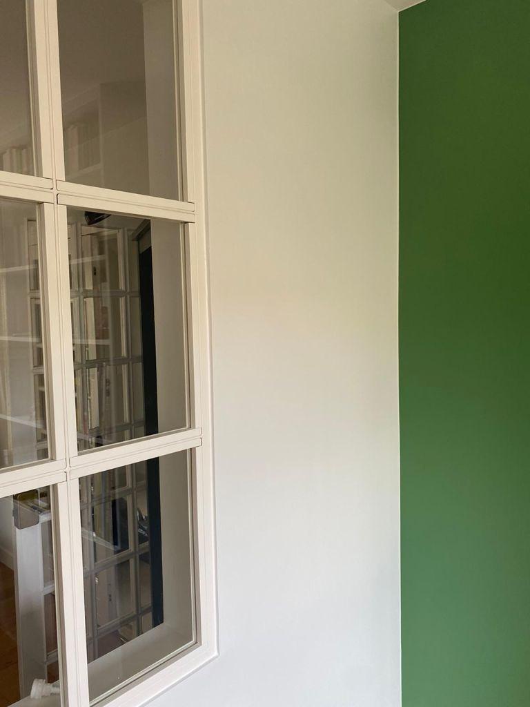 Création d'un coin bureau dans un salon _ Chaville