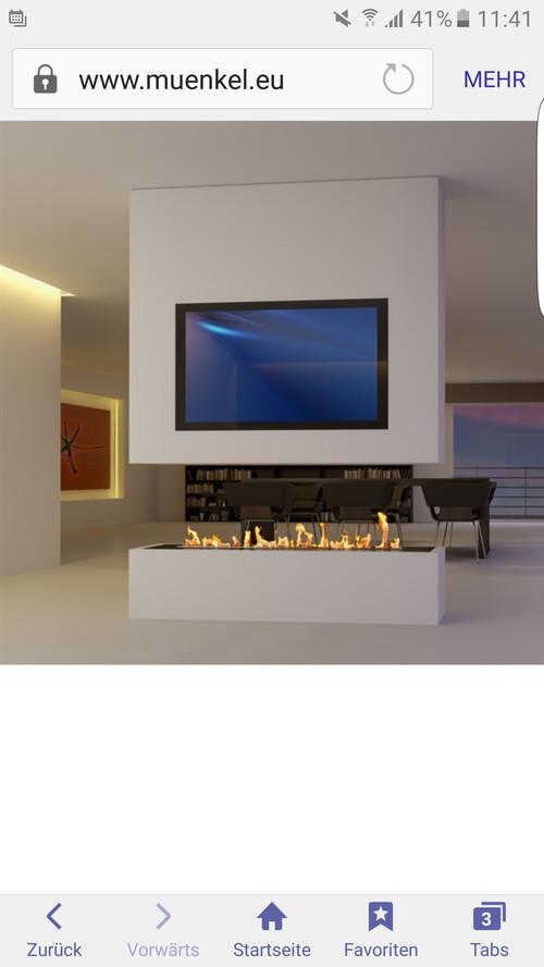 Raumteiler tv kamin for Home designer 8