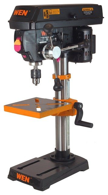 "Drill Press With Laser, 10""."
