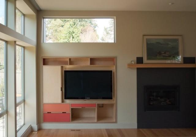Built In Av Cabinet