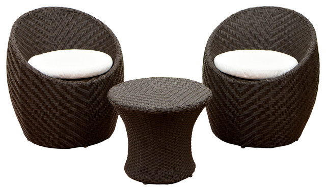 Morocco Outdoor Seating 3-Piece Set.