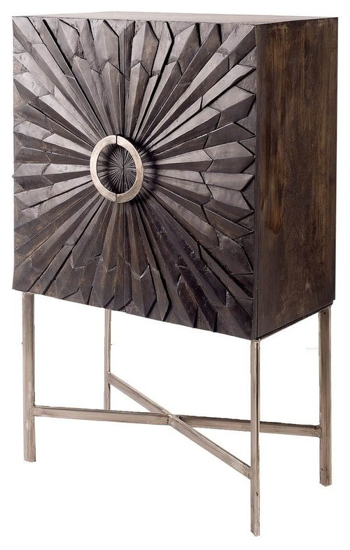 Conrado cabinet made from reclaimed wood