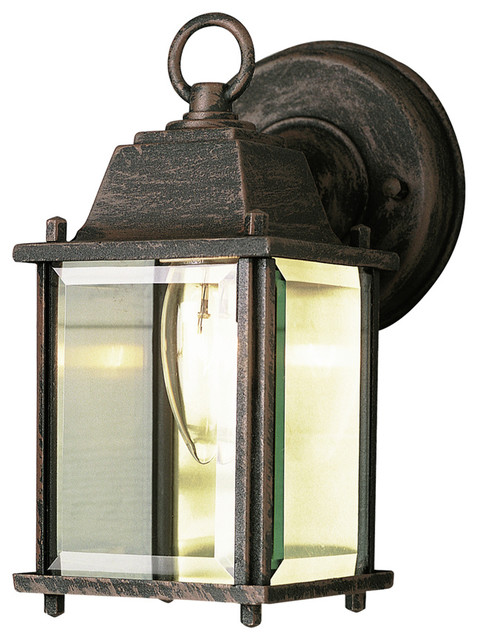 Trans Globe 40455 1-Light Coach Lantern - Transitional - Outdoor Wall Lights And Sconces - by ...