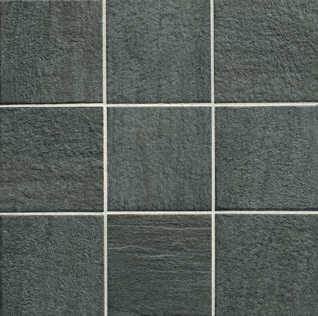 Supergres You Series Pepper Black Tile Dark Floor