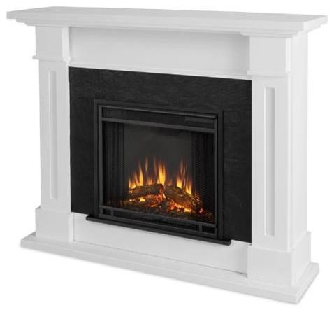 Kipling Electric Fireplace, White.