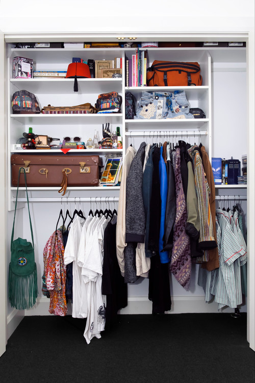 How to design a practical closet for Design your own house online in india