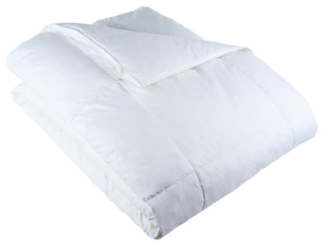 100% Cotton Feather Down Bedding Comforter, Twin