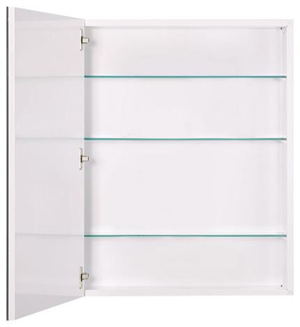 """Metro Oversize 24"""" X 30"""" Beveled Medicine Cabinet, Surface Mount."""