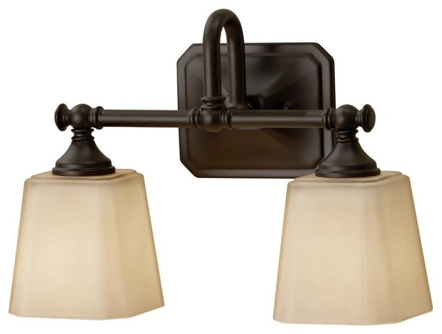 Murray Feiss Vs19702 Orb Concord 2 Light Bath Vanity Light Oil Rubbed Bronze Transitional