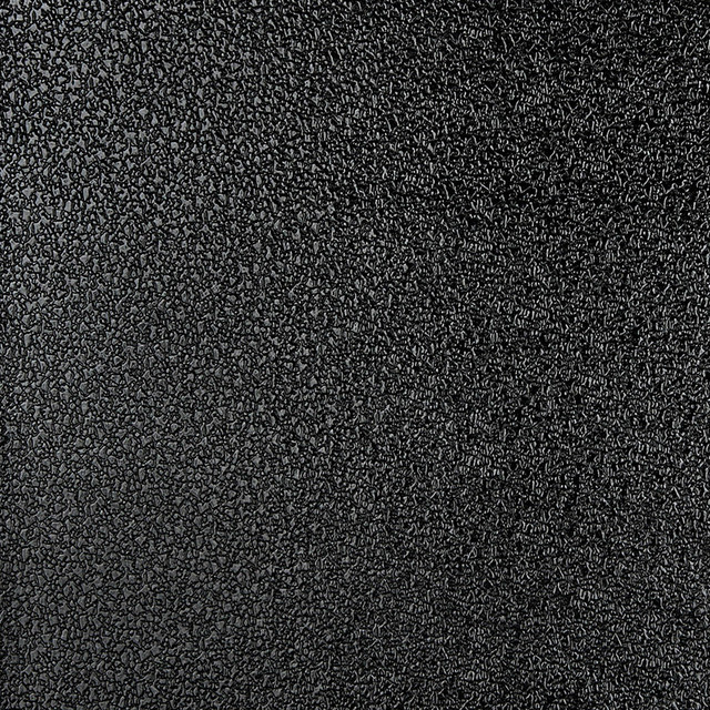 Black Shiny Speckled Upholstery Faux Leather By The Yard