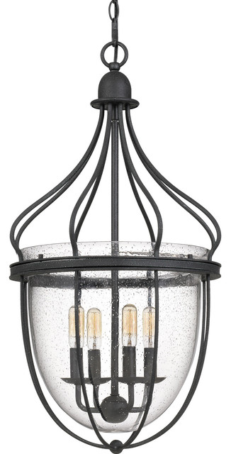 "Quoizel CNY5204 Colony 4 Light 15"" Wide Taper Candle Pendant"