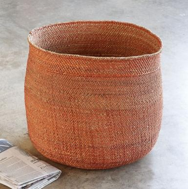 Handwoven Iringa Basket eclectic baskets