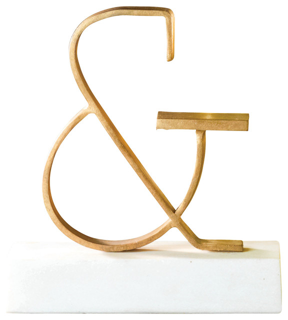 Global views global views ampersand objet decorative for Modern decorative objects