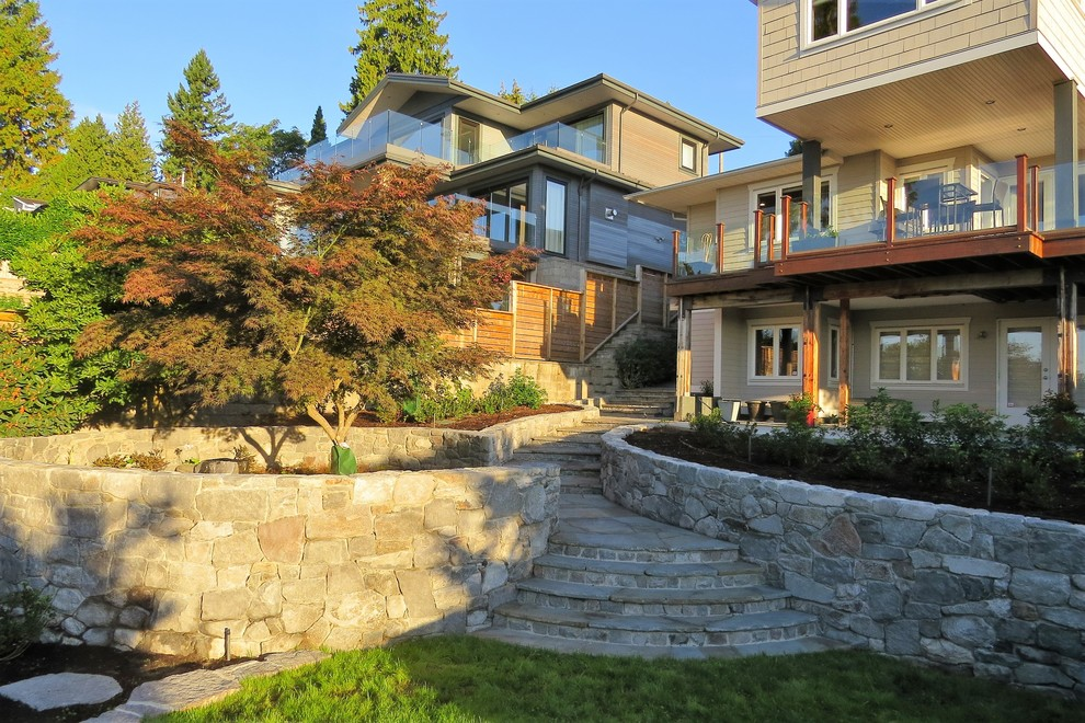 Inspiration for a timeless home design remodel in Vancouver