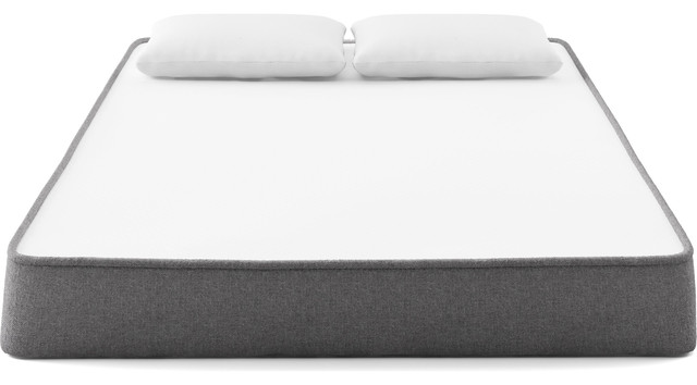 Aurora Mattress Queen, White And Slate.