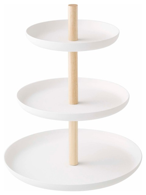 Superbe Tosca 3 Tier Cake Stand White
