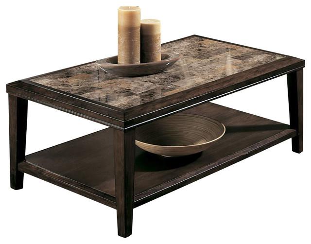 Nice Homelegance Belvedere 3 Piece Coffee Table Set In Espresso