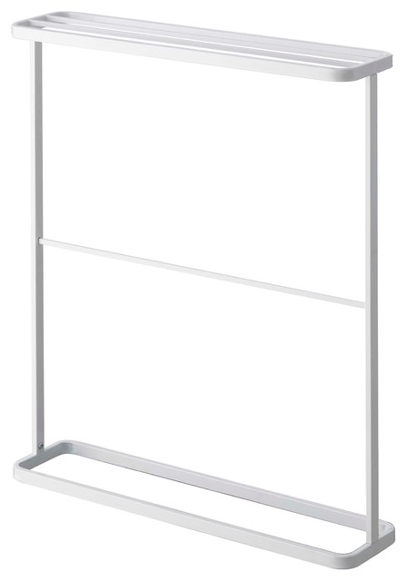 Tower Bath Towel Hanger Contemporary Racks Stands By Yamazaki Home