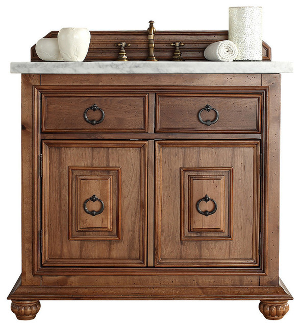 Mykonos 36 single vanity cabinet traditional bathroom vanities and sink consoles by for Single sink consoles bathroom