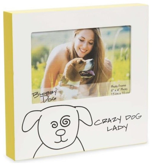 Crazy Dog Lady Picture Frame Contemporary Picture Frames By