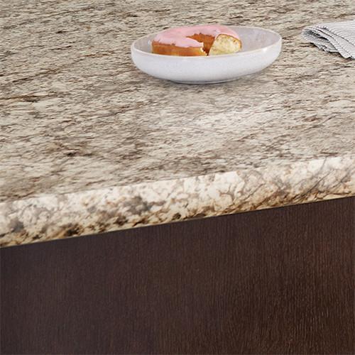 Decorative Edges Contemporary Kitchen Countertops