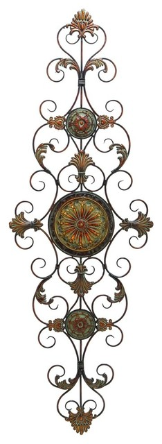 Ruthie Metal Scroll Wall Decor.