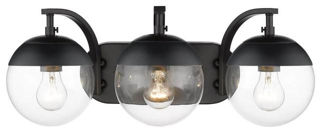 Bathroom Vanity Lighting, Modern Bathroom Light Fixtures Black