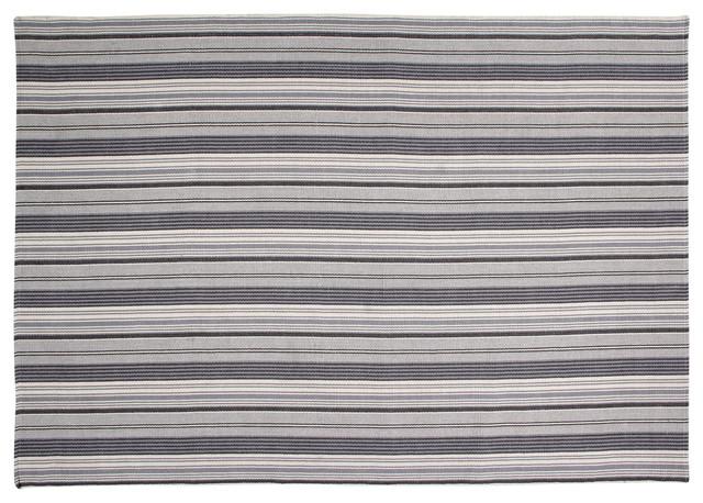 Handwoven Multicolour France Cotton Rug, 200x300 cm