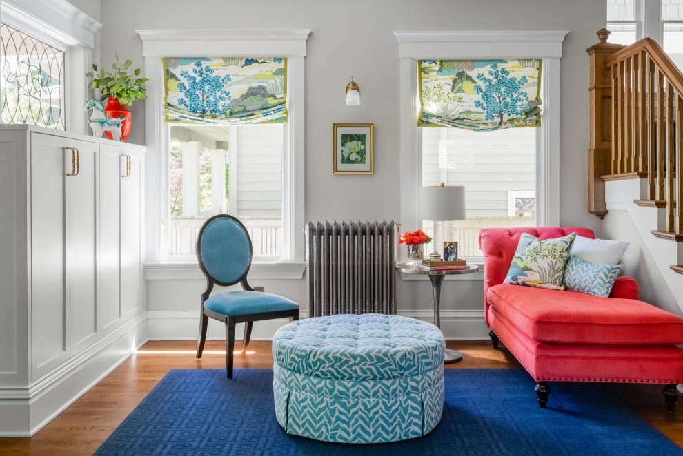 Inspiration for a craftsman home design remodel in Seattle