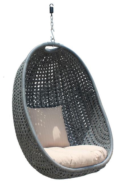 Astounding Nimbus Hanging Basket Textured Slate Customarchery Wood Chair Design Ideas Customarcherynet