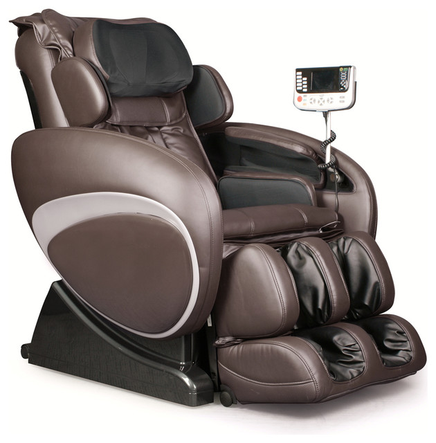 Osaki OS 4000T Zero Gravity Deluxe Massage Chair, Brown