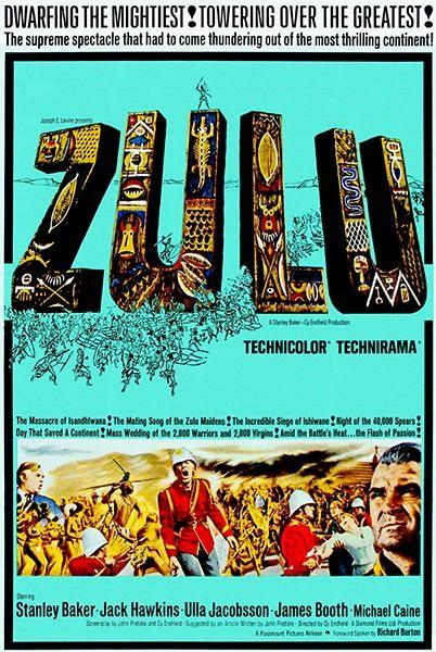 Zulu Warrior Poster Art Print History Home Decor