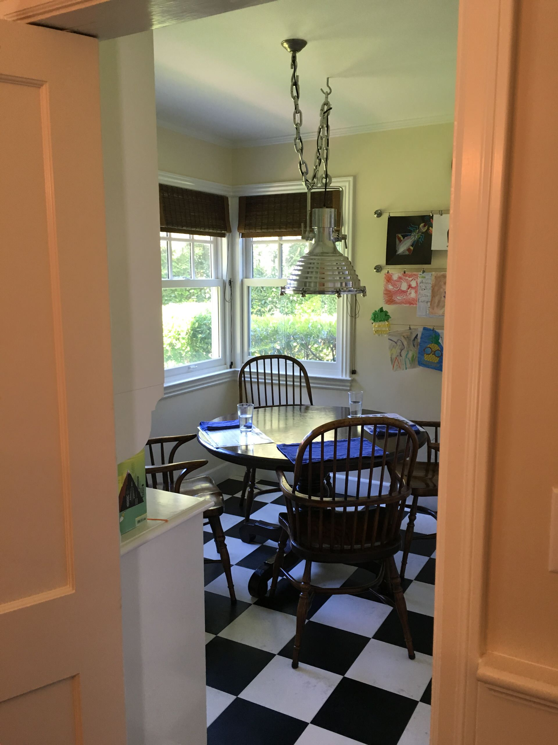Colonial Revival - Before, office