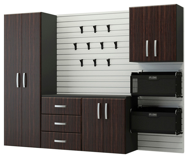 6-Piece Deluxe Cabinet Set - Contemporary - Garage And Tool Storage - by RST Outdoor