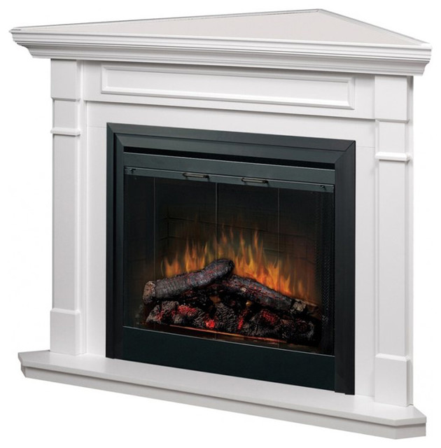 "Dimplex 33"" Corner Fireplace Package"