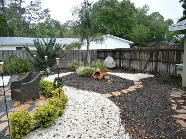 Landscape design for xeriscape or hardscape winter park for Garden design xeriscape