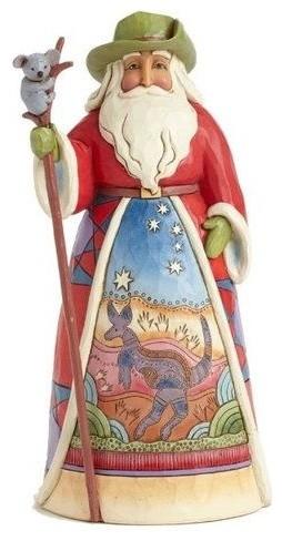 Enesco Figurine, Australia Santa