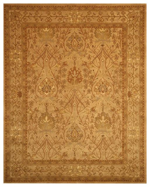 tufted wool beige morris rug traditional area rugs by eorc eastern rugs