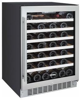 Titan Single Zone Wine Cooler - Contemporary - Beer And Wine Refrigerators - by Titan
