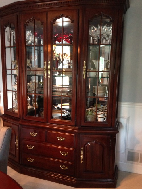 Also In The Dining Room Are China Hutch And Serving Side Table. My Family  Thinks Iu0027m Crazy Putting These Totally Different Looks Together. Please  Help!