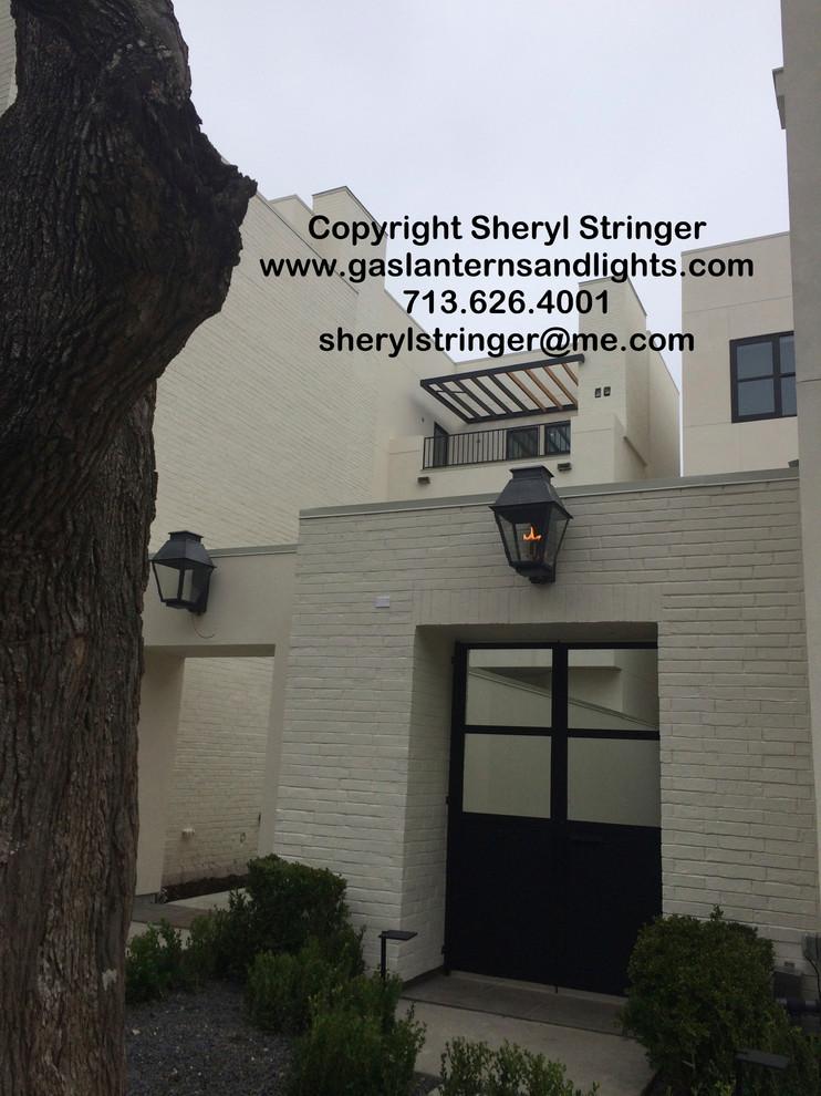 Contemporary Gas Lanterns by Sheryl Stringer