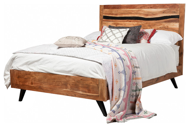Prana Reclaimed Mango Wood Queen Bed Frame.