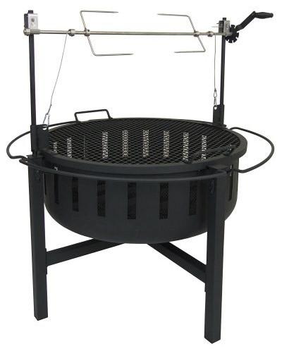 Landmann Usa 23960 Grill/rotisserie Fire Rock Fire Pit.