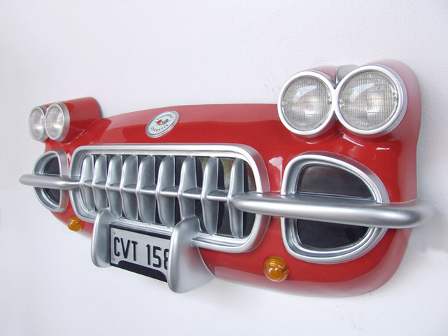 Corvette Front Car Wall Decor Home Decor