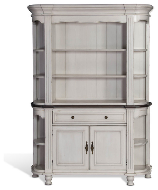 Sunny Designs Bourbon Country China Cabinet, French Country - Traditional - China Cabinets And ...