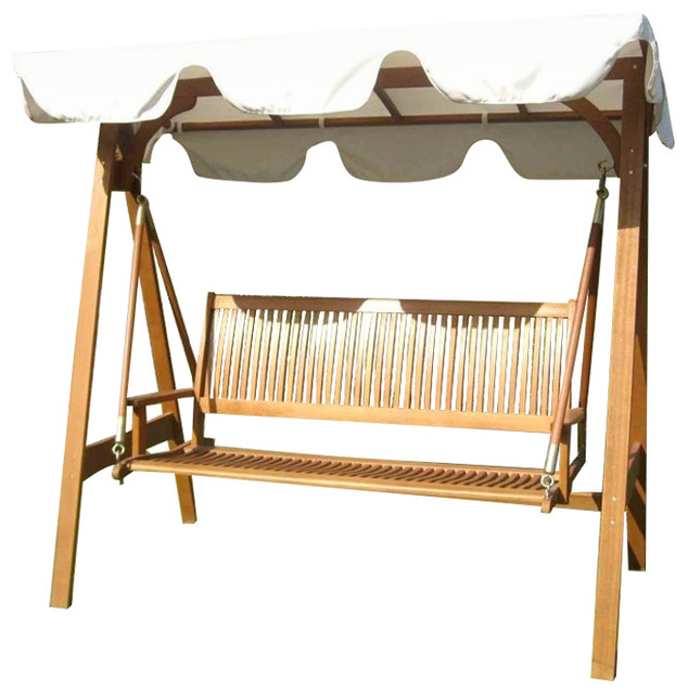 International Caravan Royal Tahiti Outdoor Patio Swing Set by International Caravan