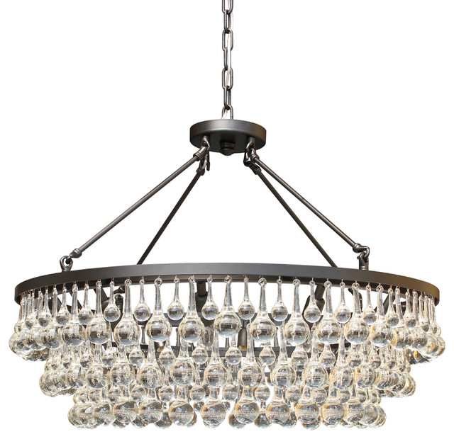 Celeste chandelier black contemporary chandeliers by light up celeste chandelier black aloadofball Images
