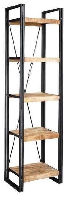 Cosmo Slim Open Bookcase